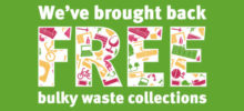 Next Free Bulky Waste Collection…